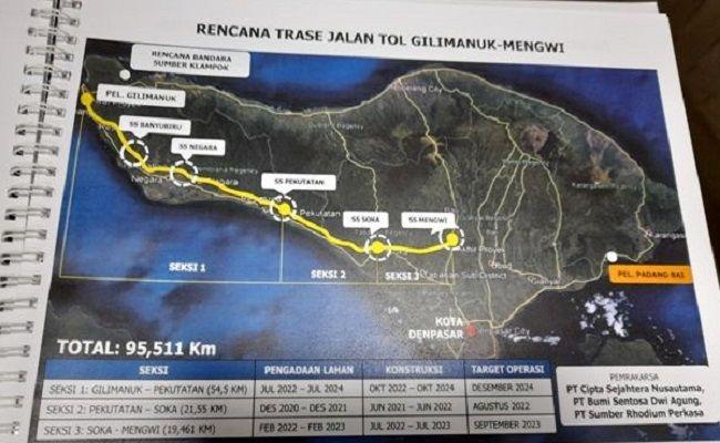 Pertama di Asean, Tol Gilimanuk-Mengwi Ada Jalur untuk Pesepeda Gayung