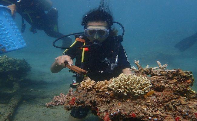 Puluhan Penyelam di Denpasar Dilatih di Kolam dan Laut