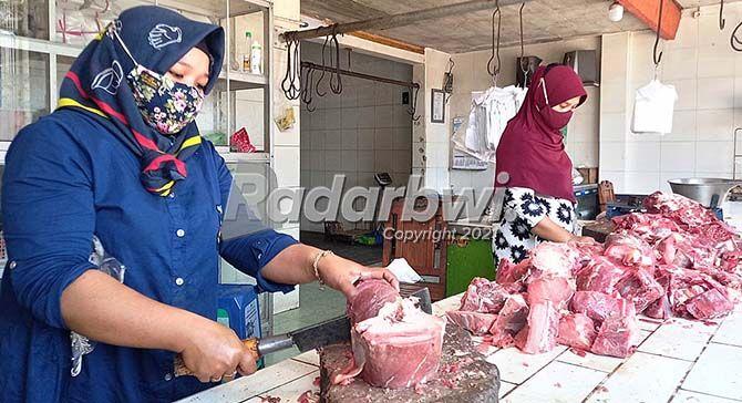 Daging Kurban melimpah, Penjual Daging dan Selep Tetap Normal