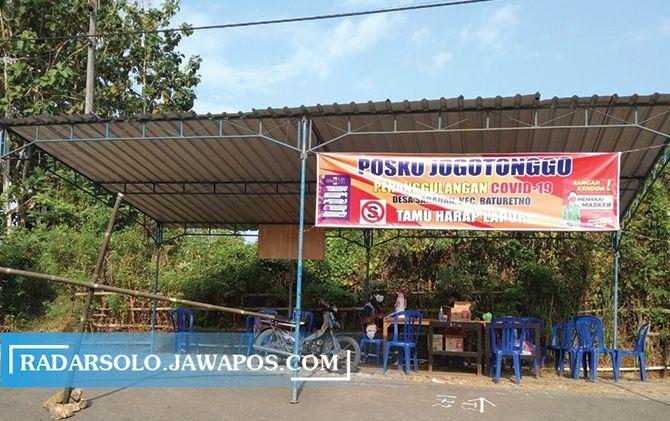 Buntut Klaster Tamu Hajatan di Kudus, 2 Dusun di Wonogiri Diisolasi