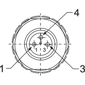 4 Pin Lemo Connector 4 Pin Wago Connector Wiring Diagram