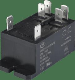 hf92f 012d 2a type miniature high power relay [ 2283 x 2227 Pixel ]