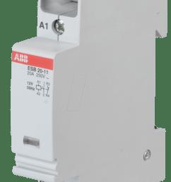 abb esb20 11 12 installation contactor  [ 1056 x 1746 Pixel ]