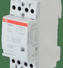 abb esb24 13 12 installation contactor  [ 1307 x 1800 Pixel ]