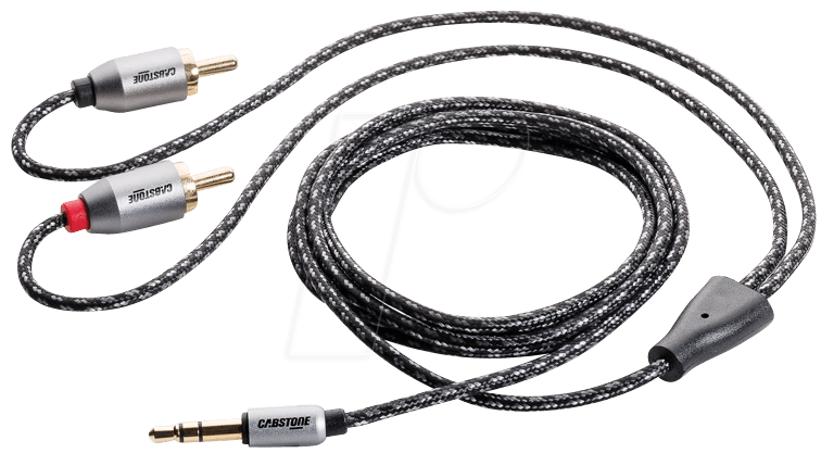 CAB 43867: Audio adapter cable, 2x RCA jack 3.5 mm at