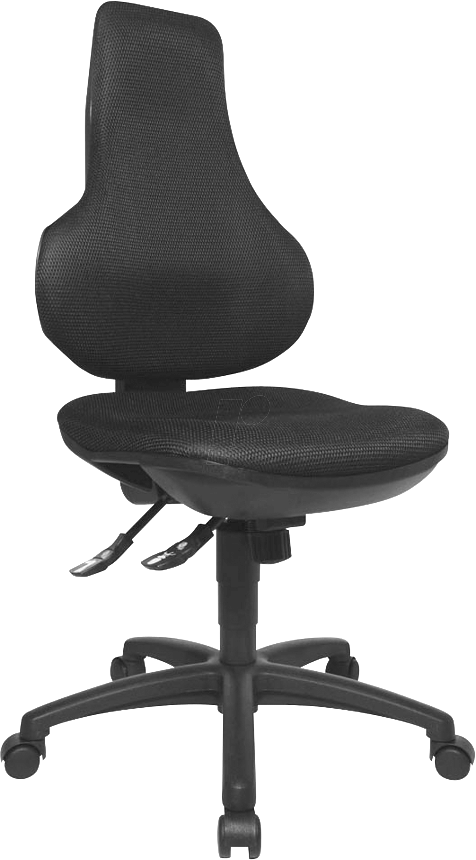 revolving chair supplier chicago bears chairs tst epo2bb0 topstar ergo point sy office black at