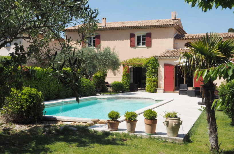 Villa Romarin Rent-Our-Home Lourmarin Provence
