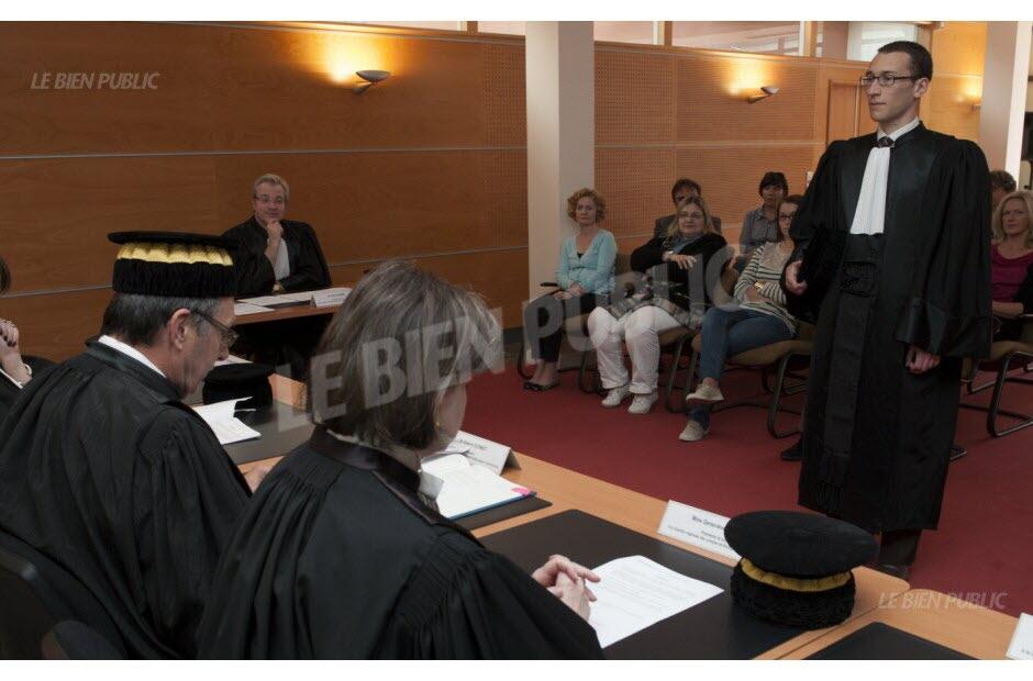 Dijon  Jrme Dossi nouveau magistrat de la chambre rgionale des comptes de Bourgogne