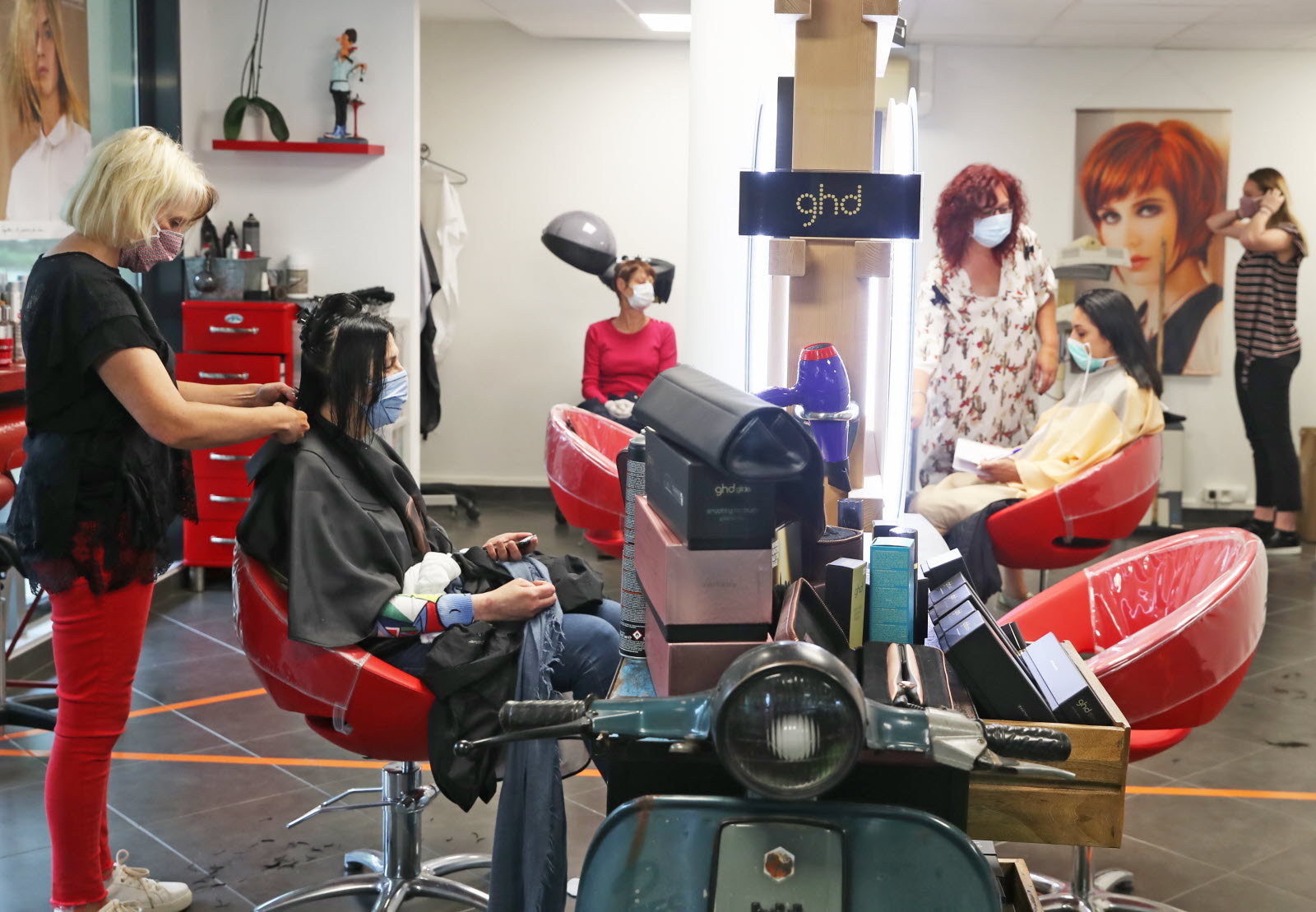 deconfinement retour chez le coiffeur