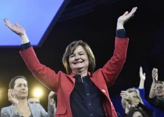Nathalie Loiseau (LREM) compte faire barrage au Rassemblement national lors des élections européennes du 26 mai. Photo Stéphane de SAKUTIN/AFP