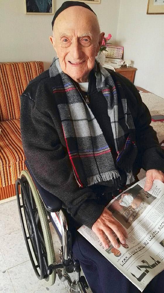 L'homme Le Plus Vieux De France : l'homme, vieux, france, RECORD., Survivant, Shoah, Devient, L'homme, Vieux, Monde