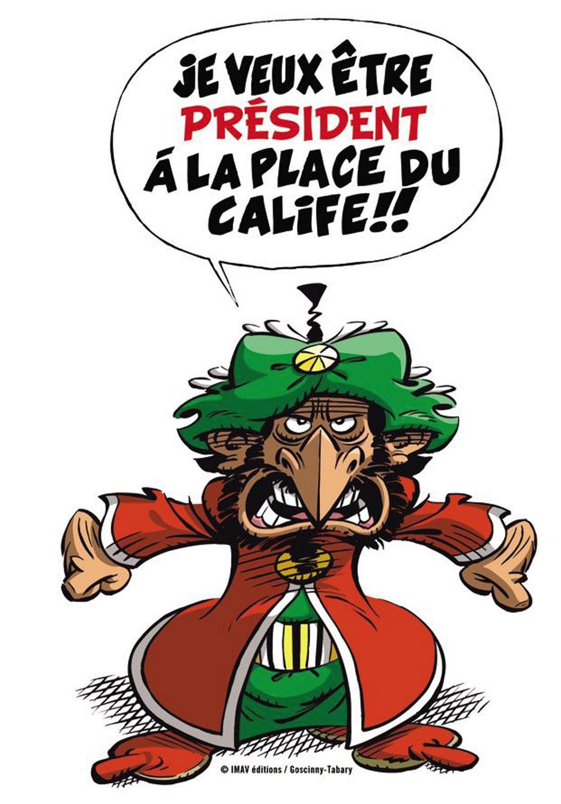 Il Voulait Devenir Calife à La Place Du Calife : voulait, devenir, calife, place, Iznogoud, Candidat