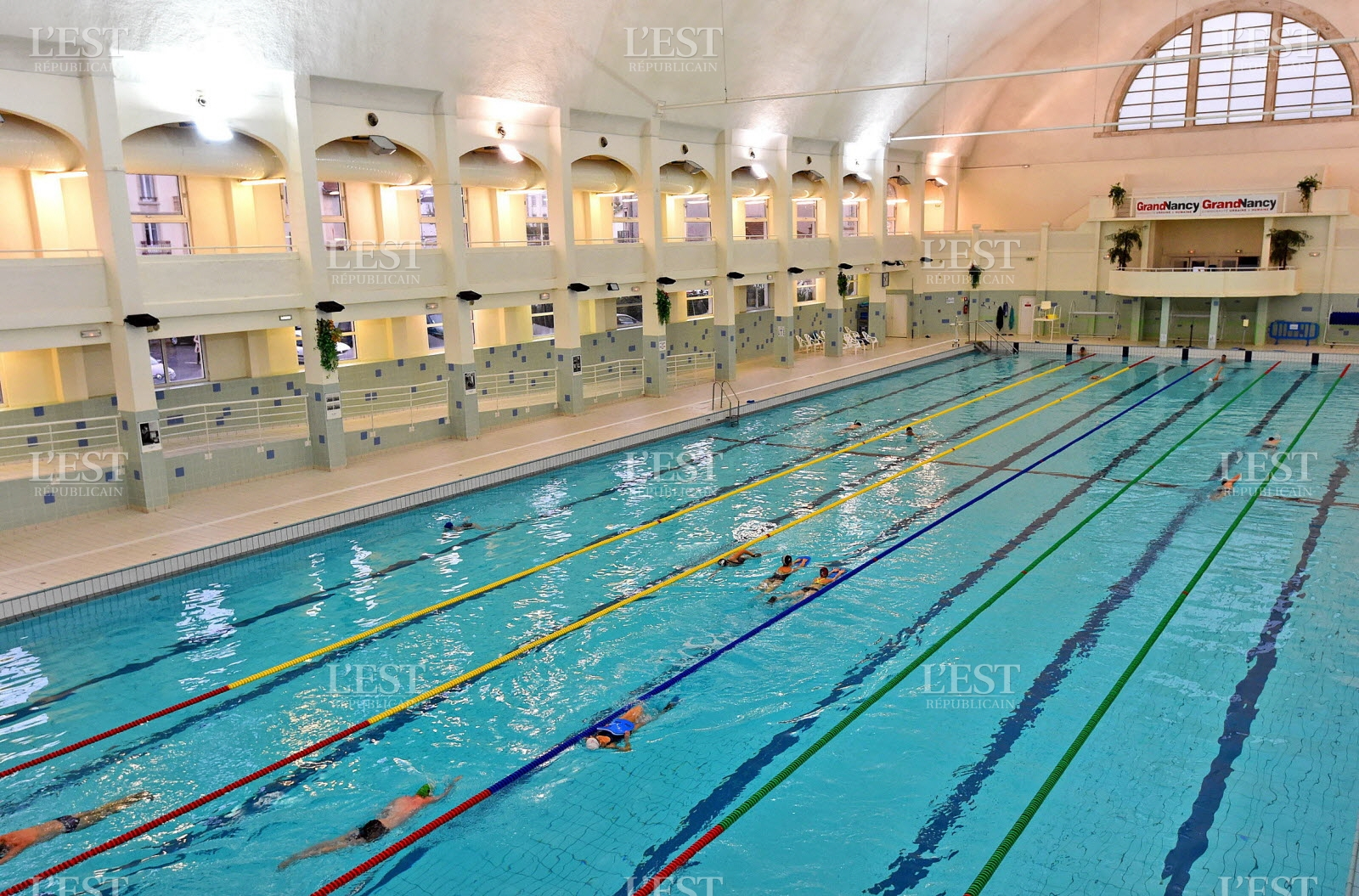 Piscine Nancy Thermal Cours Natation