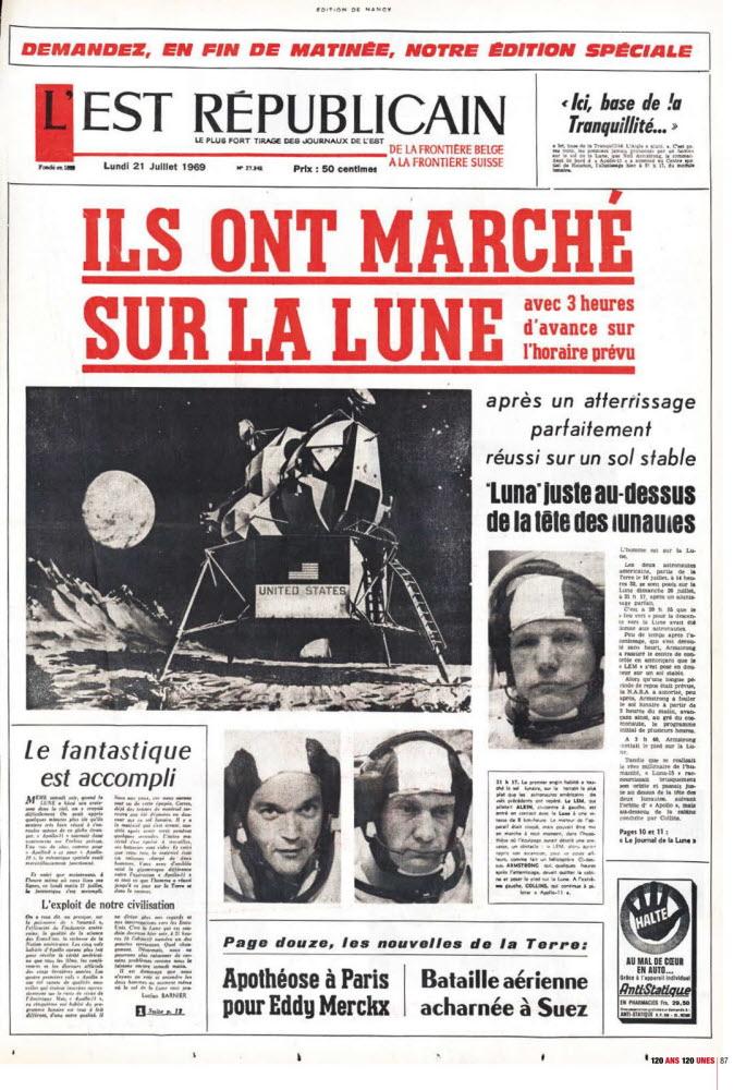 Premier Homme Sur La Lune Russe : premier, homme, russe, Retrospective., L'homme, Marchait