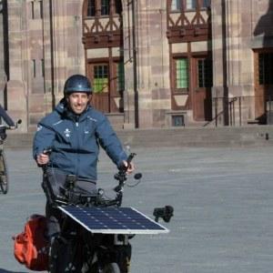 Société. A vélo solaire à 100km autour de Strasbourg : c'est parti
