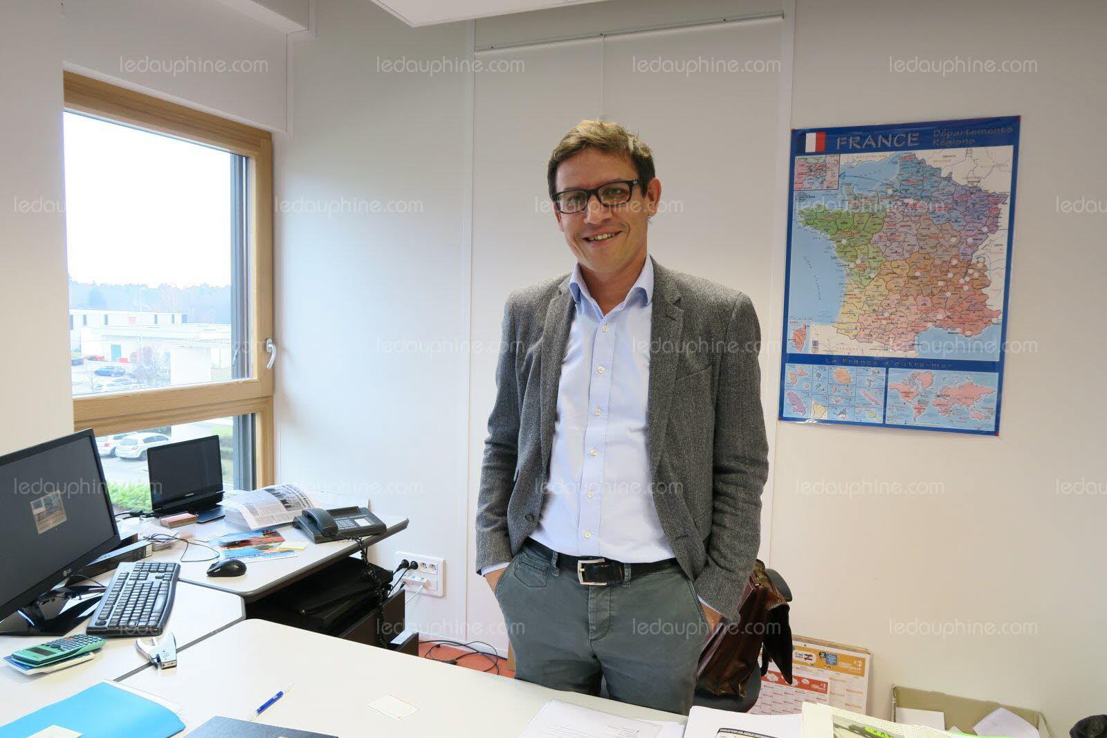 arnaud busquet est le directeur general du bureau de controles haut savoyard photo archives