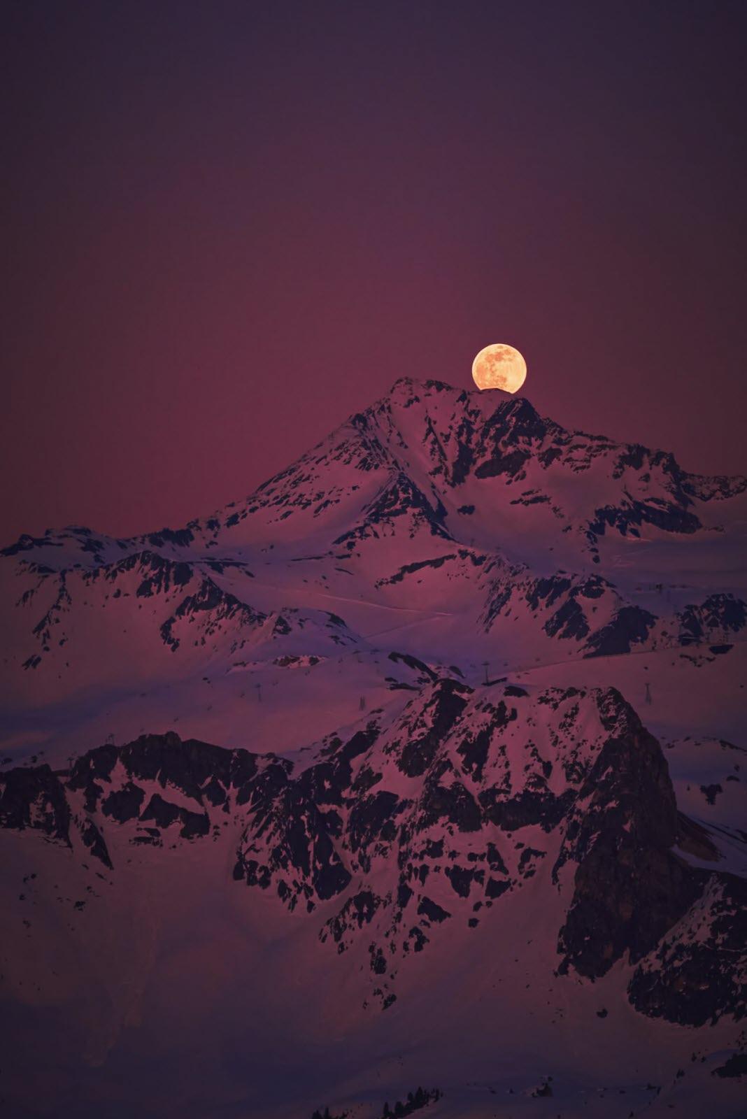Tour Du Lac D'annecy Au Clair De Lune : d'annecy, clair, Savoie., Super, Regardez