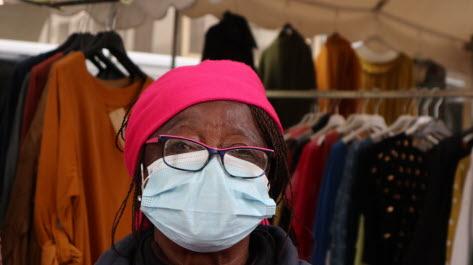 Madeleine Lhotel, 75 ans, commerçante, Carpentras. Photo Le DL /Sheima BOUGHDIR