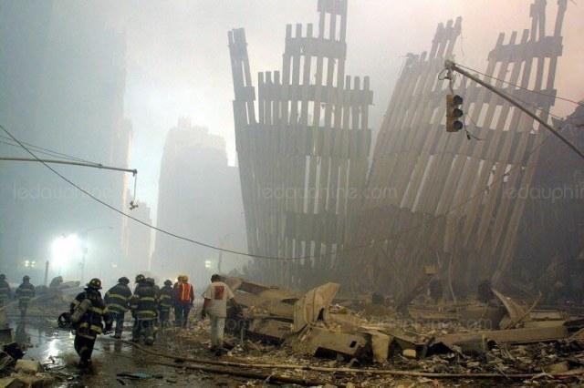 New York, 11 septembre 2001. Photo Doug KANTER/AFP
