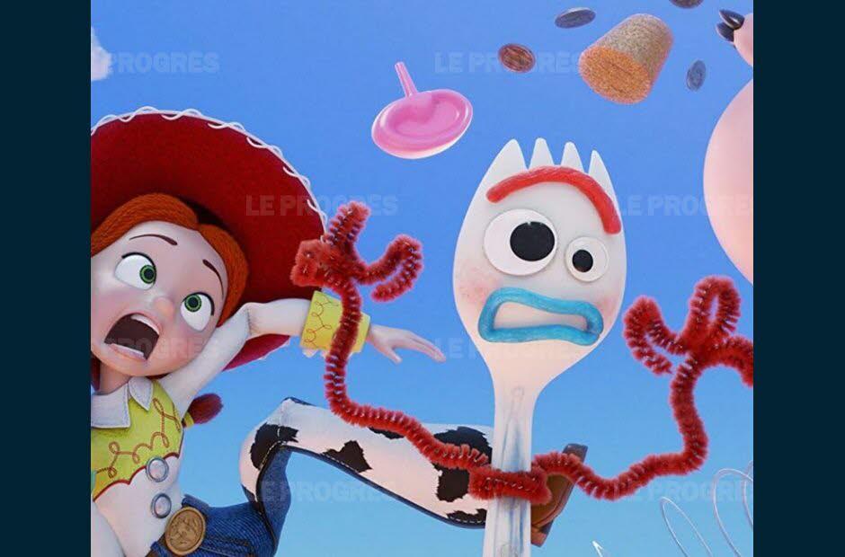 dessin à imprimer: Fourchette Toy Story Dessin A Imprimer