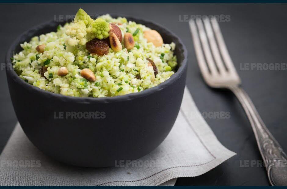 Cuisine et Gastronomie  Taboul de choufleur aux fruits secs