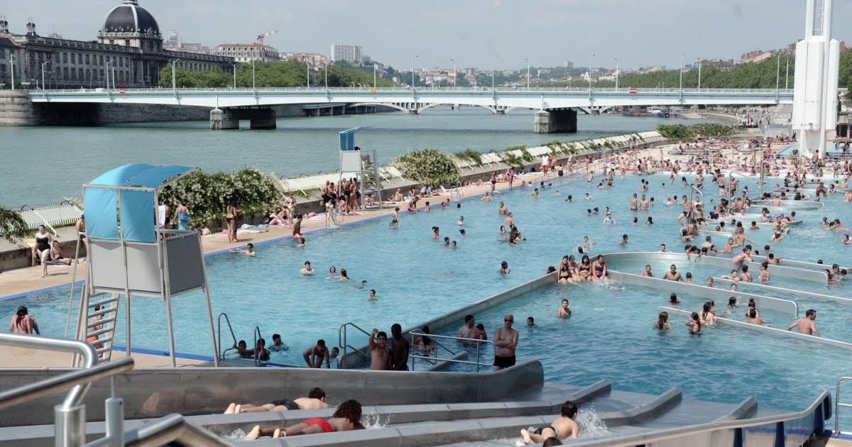 Rhne  Lyon  la piscine du Rhne rnove fait le plein