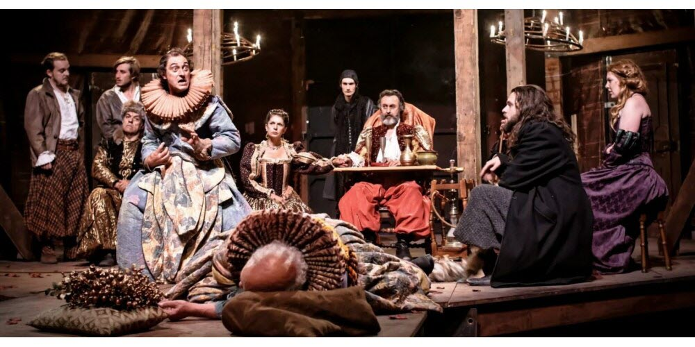 Le Théâtre Dans Le Théâtre : théâtre, LYON., Théâtre, élisabéthain,, Hamlet, Voit…, Mille