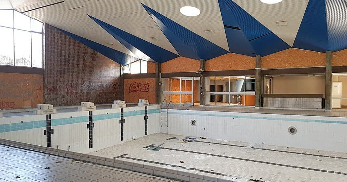 HauteLoire  Aiguilhe  une salle de sport dans lancienne piscine