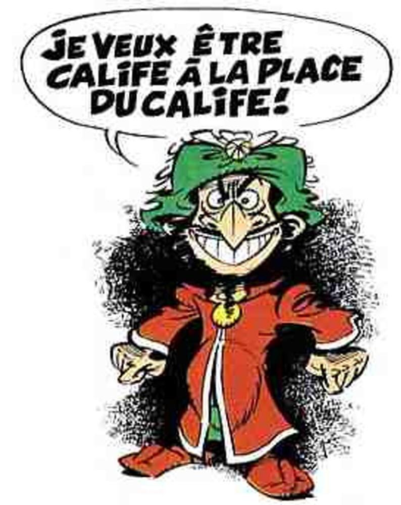 Il Voulait Devenir Calife à La Place Du Calife : voulait, devenir, calife, place, Bande-dessinée., Tabary,, Créateur, D'Iznogoud,, Décédé