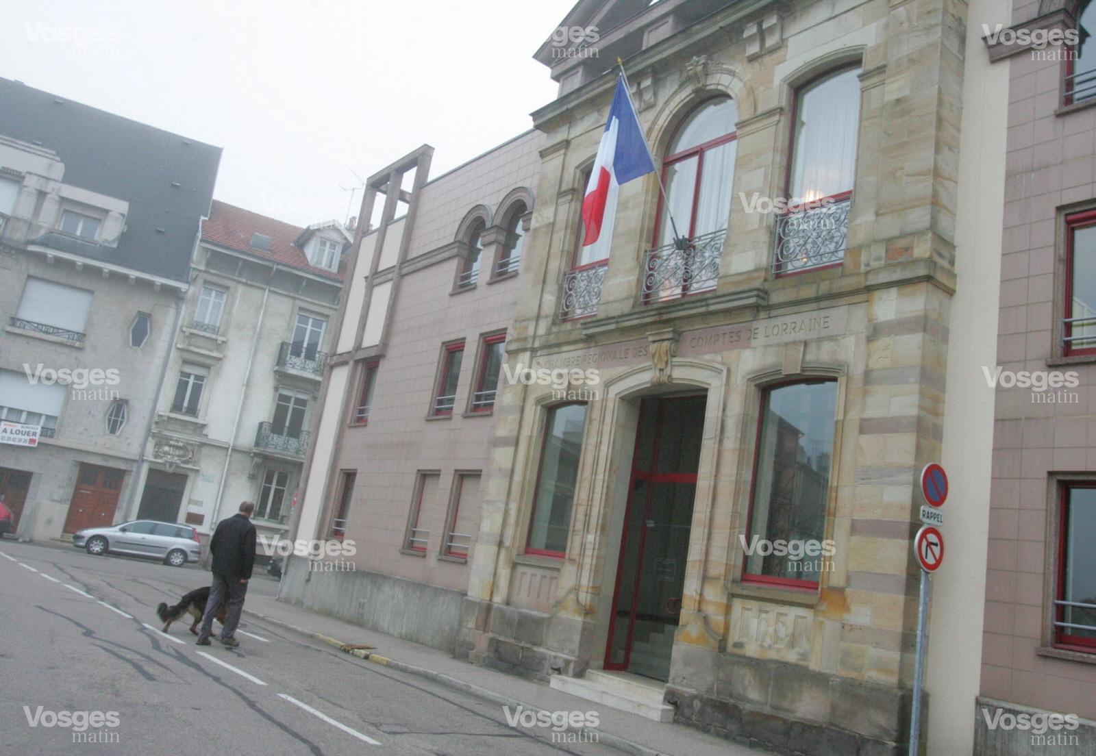 Edition dEpinal  La Chambre rgionale des comptes quitte Epinal