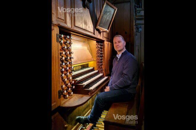 Johann Vexo est organiste de chœur à Notre-Dame. Photo ER /J.-B.M.