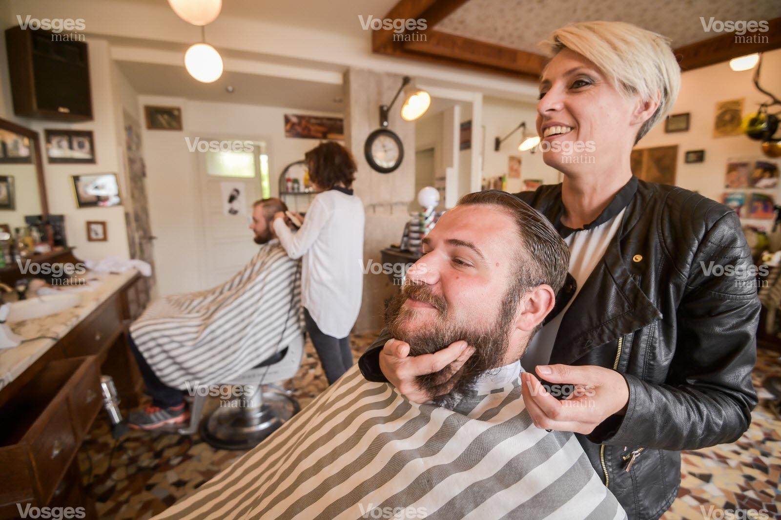 Economie  Les barbiers se taillent une belle rputation