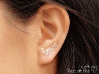 Where To Buy Love Cartilage Earrings