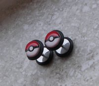Pokeball Picture Earrings