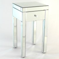 Designers Choice Beveled Mirror End Table from ...