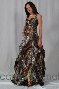 Trendy Camo And Orange Prom Dresses | The from ...