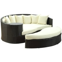 Lexmod Taiji Outdoor Patio Daybed In Comfort