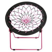 Room Essentials Pink/Black Bungee Chair from Target ...