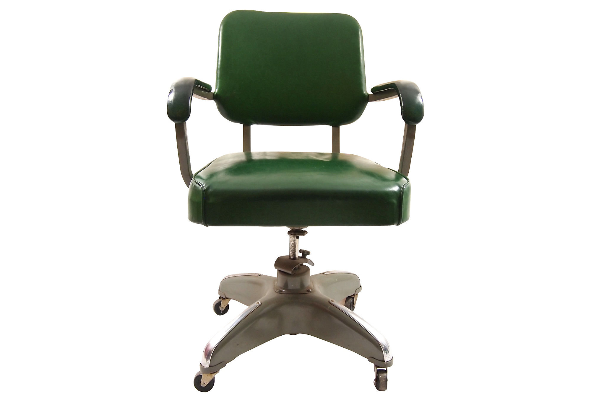 Mid Century Modern Office Chair One Kings Lane Industrial Chic From One Kings Lane