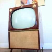 Retro VINTAGE TV SET // Mid Century from ACES FINDS ...