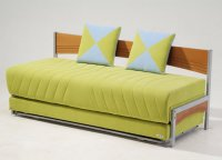 Tokio Modern Twin Size Bed - Double Sofa from ...