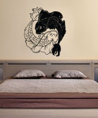 Vinyl Wall Decal Sticker Koi Fish Yin from Sticker Brand