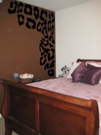 Leopard Print Spots Vinyl Wall Decal from Amazon | Things ...