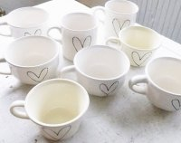 wedding guest favors - heart on vintage from wandersketch ...