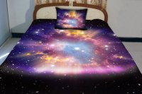 Galaxy quilt cover galaxy duvet galaxy from Tbedding on Etsy