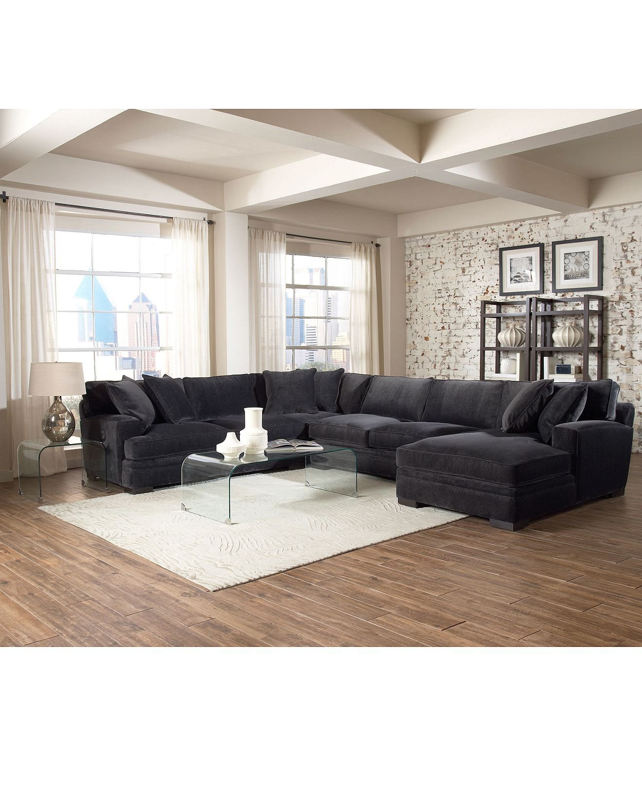 macy s furniture sofa tables nicoletti leather review teddy fabric sectional living room from macys misc home