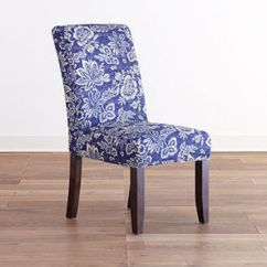 Anna Slipcover Chair Collection Fisher Price Musical Pink World Market Paisley Eastern Indigo From Cost Plus