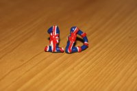 One Direction Earrings from MOMDAUGHTERcreation on Etsy   Epic