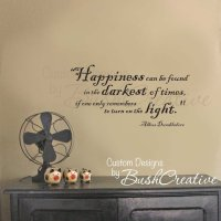 Wall Decal Harry Potter Happiness Quote from bushcreative ...