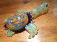 Glass Pipe - Turtle pipe - Glass Turtle from PrimoGlass on ...
